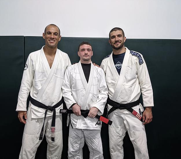 Francis Robinson Gracie Jiu Jitsu Black Belt